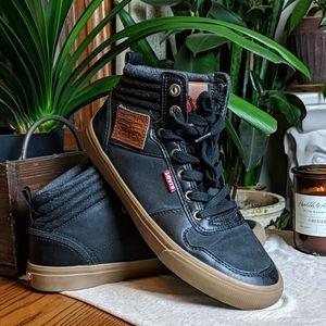 Levi's   High Top Sneakers Black